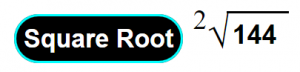 SquareRoot