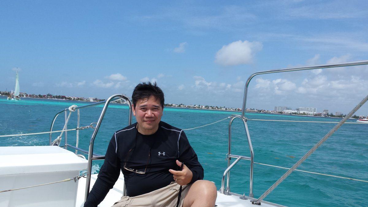 """Apolinario """"Sam"""" Ortega , founder of invbat.com"""